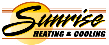Sunrise Heating & Cooling Logo
